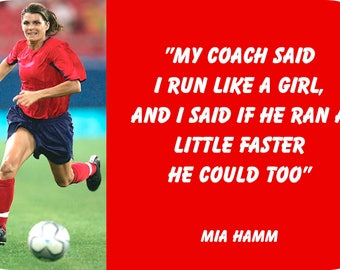 Mia Hamm Magnet