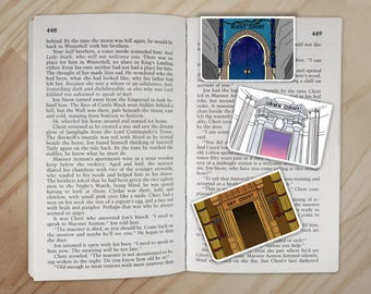 The Solar Courts Bookmarks Set - Dawn Court, Night Court, Day Court ACOTAR ACOMAF ACOWAR Clips