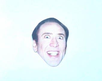 Creepy Nicolas Cage Parody CAGE FACE Coffee MUG 11oz/15oz   340 x 270 jpeg 5kB