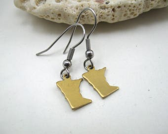 Minnesota earrings, earrings Minnesota, Minnesota jewelry MN, minnesota accessories, earrings MN, jewelry MN