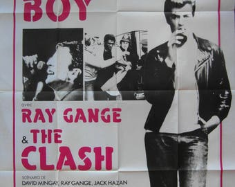Original 1980 The Clash French Grande Poster for the Movie 'Rude Boy'