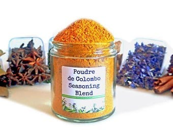 Poudre de Colombo Seasoning Blend Spice Mix Caribbean West Indian Martinique Curry Powder Foodie Chef Cooking Gift