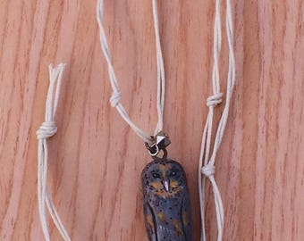 Barn Owl/Dark Morph/Nature Jewellery