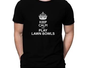 Keep Calm And Play Lawn Bowls T-Shirt