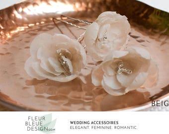 flower hairpiece | floral hair piece | flower jewelry | flower hair pins | flower headpiece | flowers bride | hair flower | bridal flowers