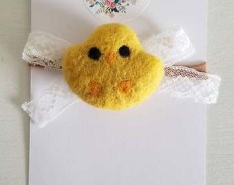 Vintage Lace Chick. Headband or hair clip