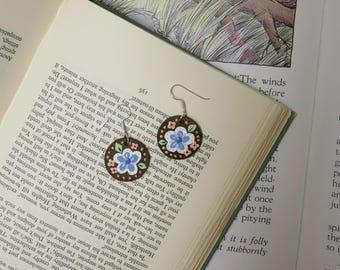 Storybook Land Hand Painted Earrings