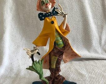 Depose Italian clown figurine