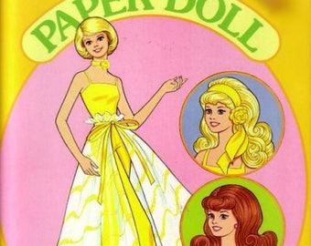 1982 Pretty Changes Barbie Paper Dolls
