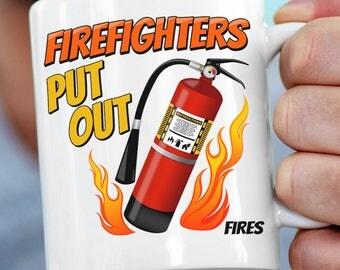 Firefighter Gift for Firefighter | Firefighter Birthday Gift | Firefighter Gift for Him or Her | Fireman Gift | Firefighter Mug | Funny Mug