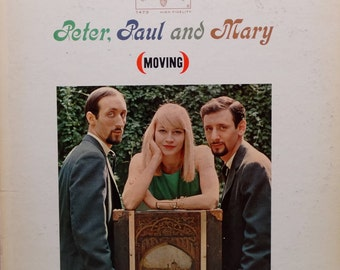 Peter, Paul And Mary - Moving 1963 (LP, Album, Vinyl Record) Country, Folk-  Music
