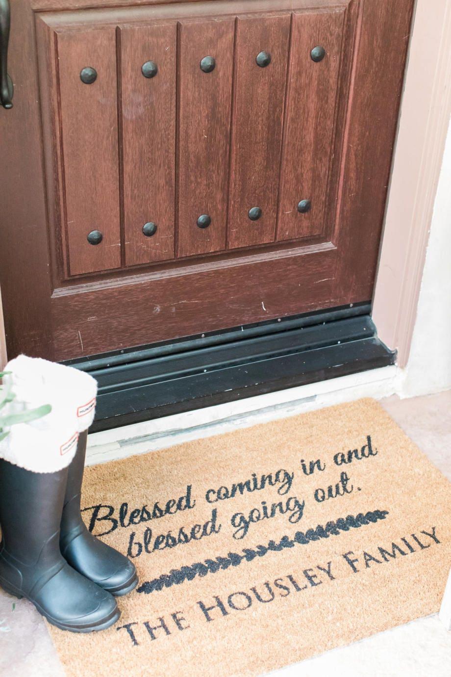 Custom Door Mat Personalized Doormat Door Mat Doormat Door