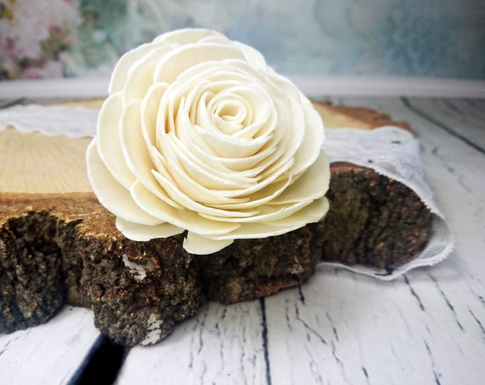 DIY wedding bouquet rose Sola Flowers  6 pcs 8cm