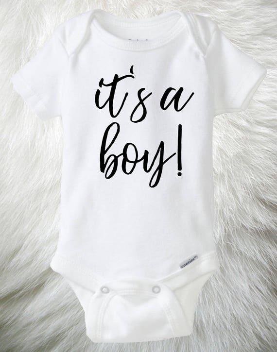 f8e4b41286d10 Gender Reveal baby boy Onesie® It's a Boy baby Onesie®, Photo Prop Onesie®,  Gender Reveal idea, Social Media reveal, Baby Announcement, Blue