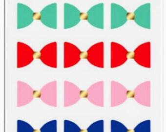 Hustle & heart mini faux bows