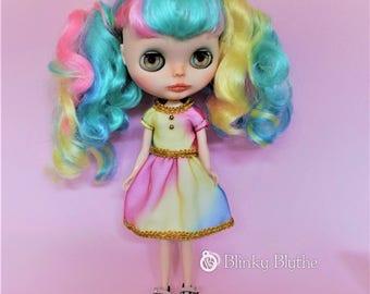 CANDY Custom Blythe OOAK (plus additional dress)