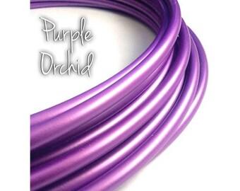 """11/16"""" Purple Orchid Colored Polypro Hula Hoop// Dance Hoop// Performance Hoop//Goldilocks Iris Lilac Lavender Amethyst"""