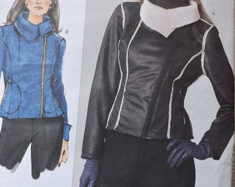 Jacket Fashion Designer Sandra Betzina Uncut Factory Folded Vogue 1198 PATTERN