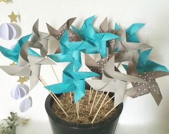 Decorative 20 windmills
