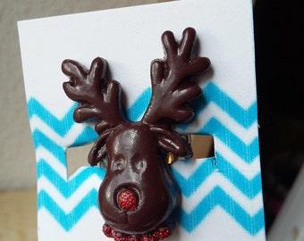 Reindeer Christmas ring.