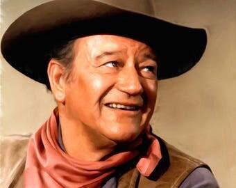 The Duke, John Wayne 16 x 20 (41 cm x 51 cm)
