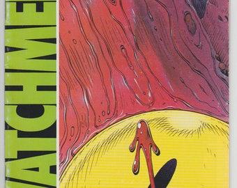 Watchmen #1 1st Print 1st app of Rorschach Ozymandias Dr. Manhattan Silk Spectre Nite Owl The Comedian 1986 Alan Moore Dave Gibbons DC Comic