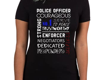 what's in a police officer