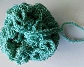 Crochet Shower puff Teal