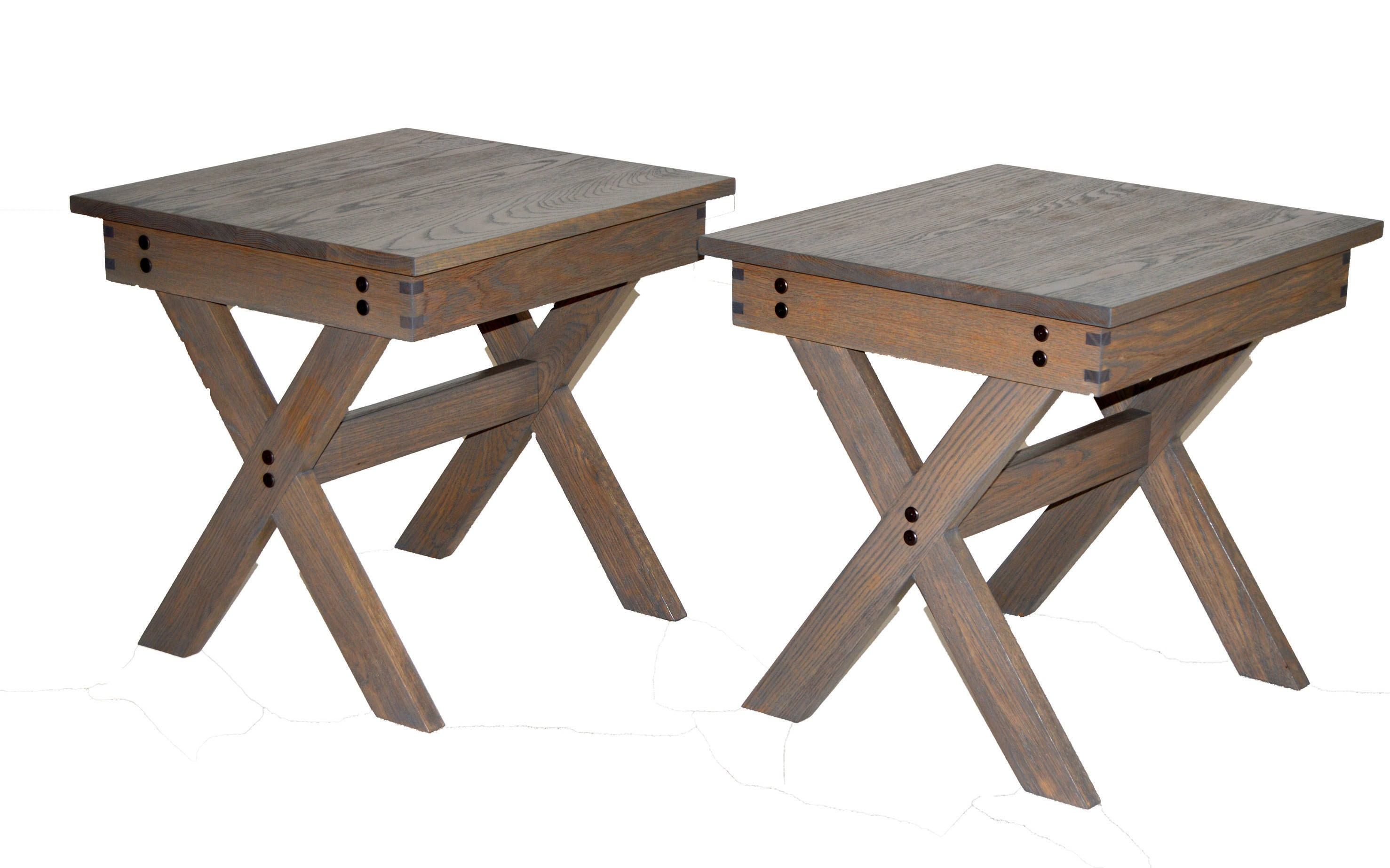 X Leg Design Coffee Table And End Table Set All 3 For One Price X Leg