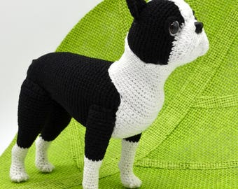 Boston Terrier Crochet Pattern