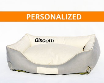 Dog Bed Kangoo Personalized/Free Name Embroidery