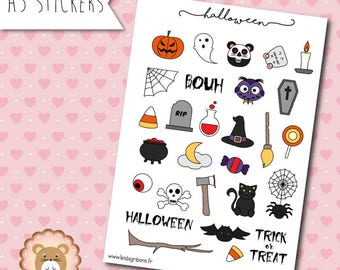 "Planners Stickers ""Halloween"""