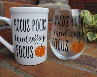 Hocus Pocus Coffee/Wine