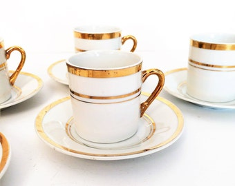 Demitasse Cups, Espresso Cups, Demitasse sets,  Turkish coffee cups Set