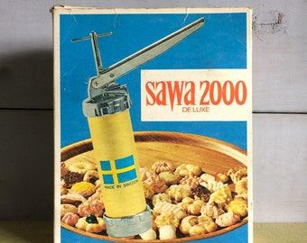 1970s Boxed Swedish Sawa Brand Cookie Press