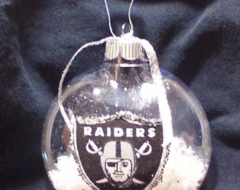 Raiders Ornament
