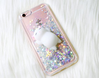 Squishy Cat Phone case Phone case Samsung galaxy s9 case Samsung galaxy s9+ Plus case iPhone 7 plus case iPhone 8 plus case iPhone x case