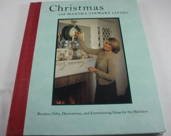 Martha Stewart Living Christmas Recipes Gifts Decorations Entertaining Ideas For The Holidays Hard Cover Book 1997