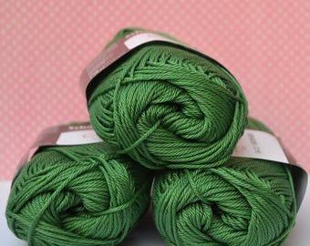 Catania yarn - Schachenmayr / 412 Moos / Worldwide Shipping / Crochet and Knitting Yarn / 1 ball/50g