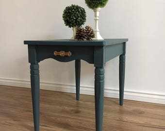 Chic Vintage End Table