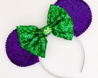 The Full Sequin (Halloween Party) - Handmade Mouse Ears Headband
