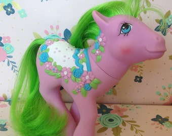 Vintage My Little Pony ~Sunny Bunch~ Carousel/ Merry-go-round pony