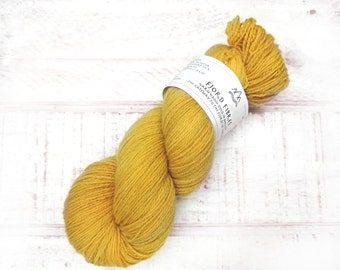 Hand Dyed Yarn - Tonal Yarn -  Sock yarn- Norwegian wool - 100g Wool Yarn