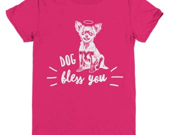 Cut Chihuahua Dog Lover Gifts - Youth Tee Shirt for Kids