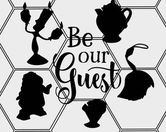 Be Our Guest SVG & PNG
