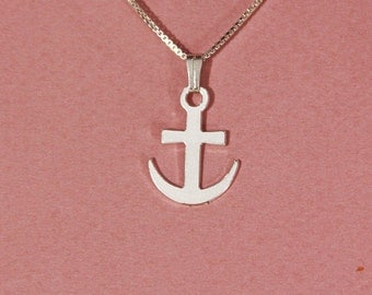 Anchor necklace nautical necklace you are my anchor hope necklace anchor pendant