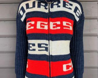 COURREGES PARIS c.1980's Knit Cardigan Jacket