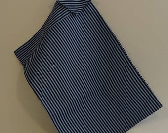 Blue stripes cotton Placemats