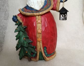 Vintage figurine of Santa Claus