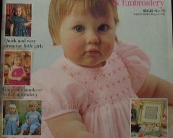 Australian Smocking and Embroidery Magazine issue 18 RARE OLDER ISSUE